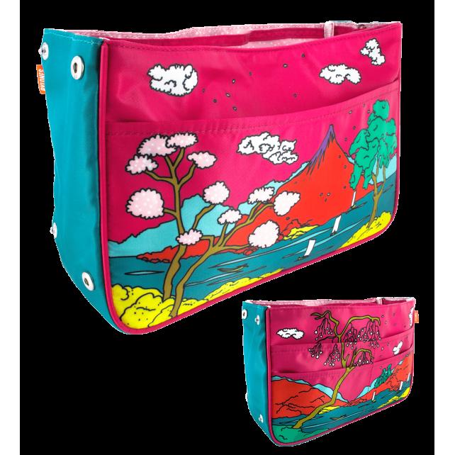 Handtaschen-Organizer - Bag in Bag Estampe