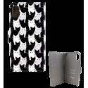 Flap cover/wallet case for iPhone X - I Wallet X Estampe