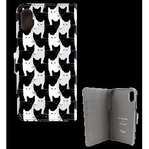 Klappdeckel für iPhone X - I Wallet X