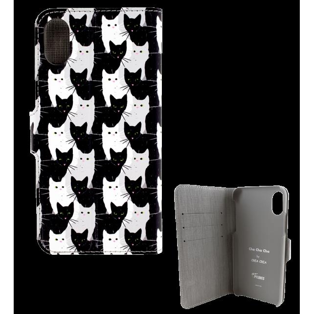 Coque à clapet pour iPhone X - I Wallet X Cha Cha Cha