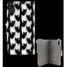Klappdeckel für iPhone X - I Wallet X Cha Cha Cha