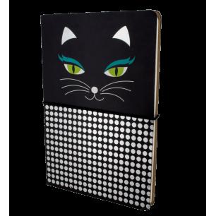 Doppio taccuino A5 - Smart Note - Black Cat