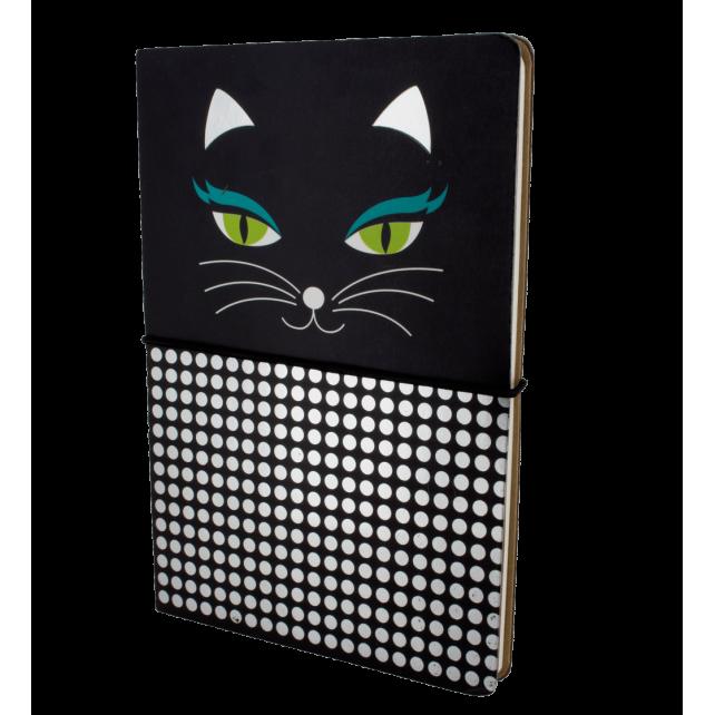 A5-Doppelheft - Smart Note Black Cat