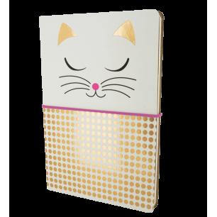 Doppio taccuino A5 - Smart Note - White Cat