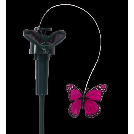 Farfalla svolazzante ad energia solare