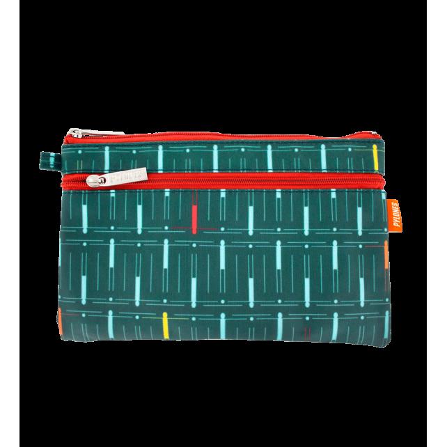 Pochette 2 zips - Zip Pouch