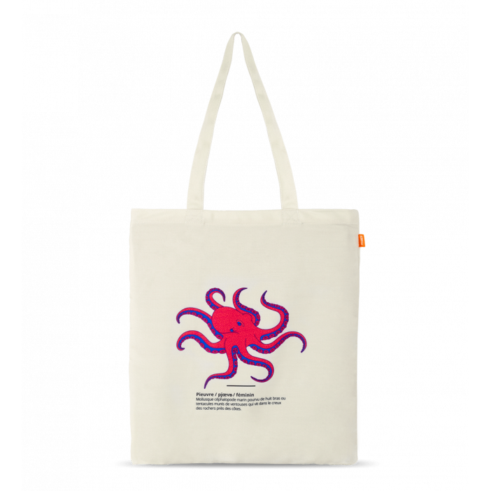 Tote Bag - Sac Octopus Octopus