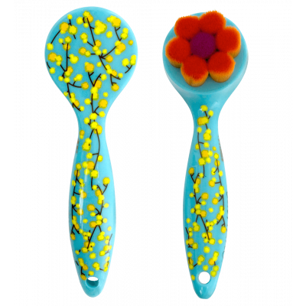 Spazzola detergente per viso - Pretty Lady - Mimosa