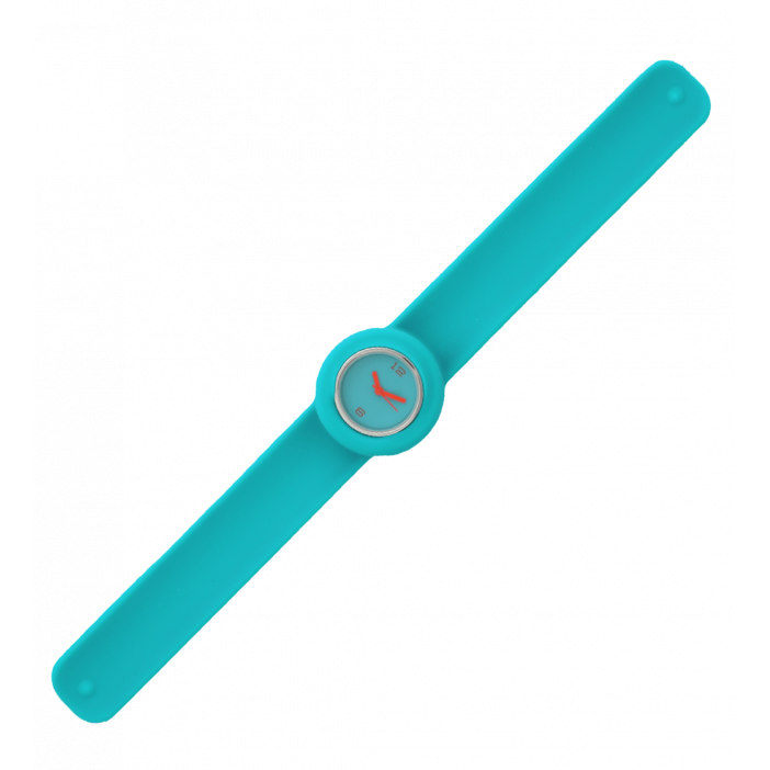 Slap watch - Time Light Blue