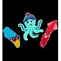 Set de 2 aimants - Magnet Octopus Happy Lopodes