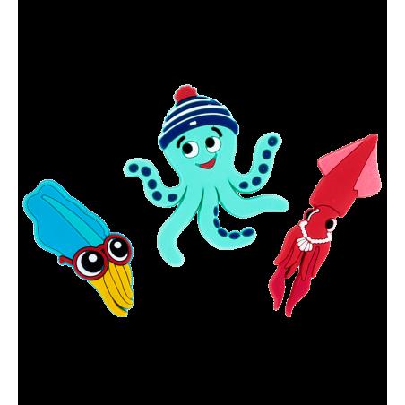 2er-Set Magnete - Magnet Octopus