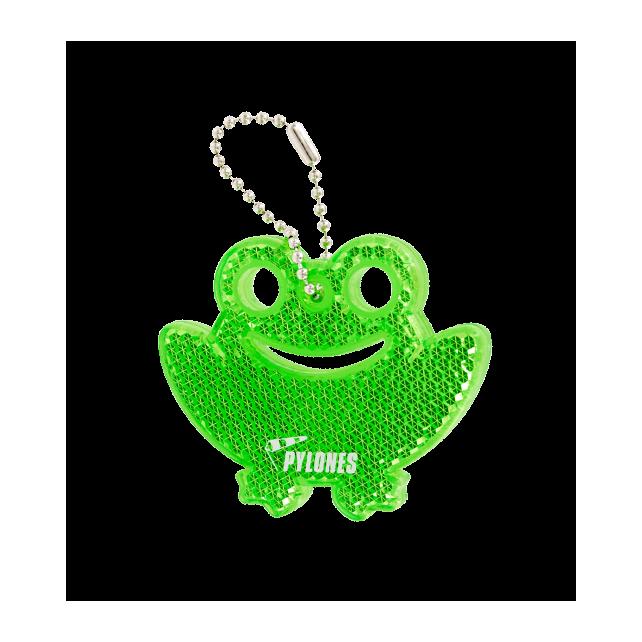 Reflektierender Schlüsselanhänger - Flashy Frosch