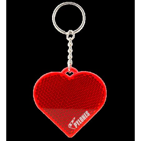 Flashy - Reflektierender Schlüsselanhänger Herz