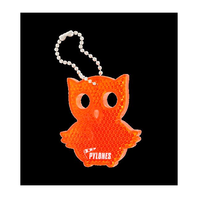 Flashy - Porte-clé réfléchissant Owl