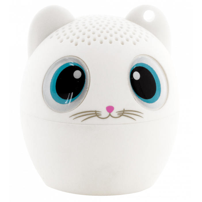 Bluetooth mini speaker - Sing song White cat