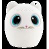 Sing Song - Mini cassa bluetooth Gatto bianco