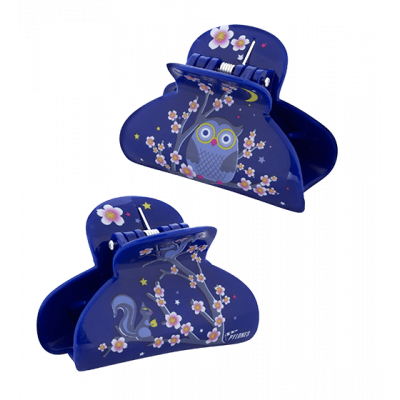 Pince à cheveux crabe - Ladyclip Small - Blue Owl