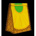 Sac à gouter isotherme - Sandwich bag Ananas