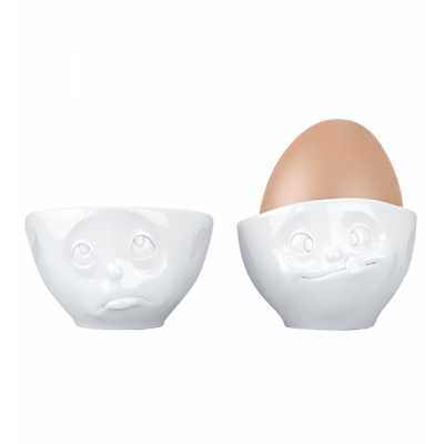 Set of 2 egg cups - Emotion