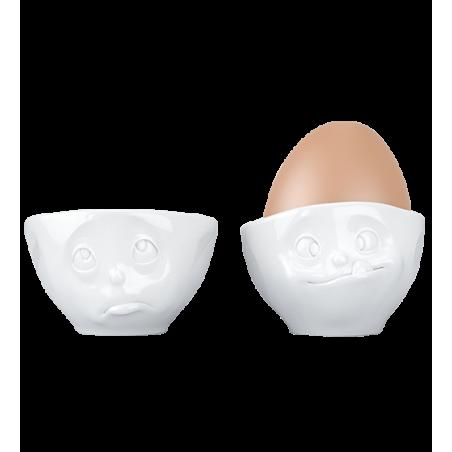 Set of 2 egg cups - Emotion