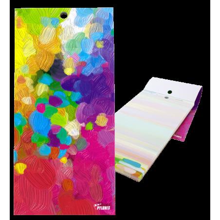 Magnetic memo block - Notebook Formalist Dahlia