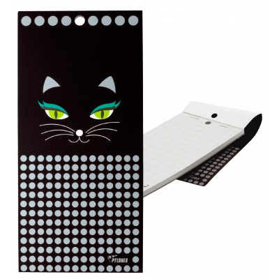 Magnetic memo block - Notebook Formalist - Black Cat