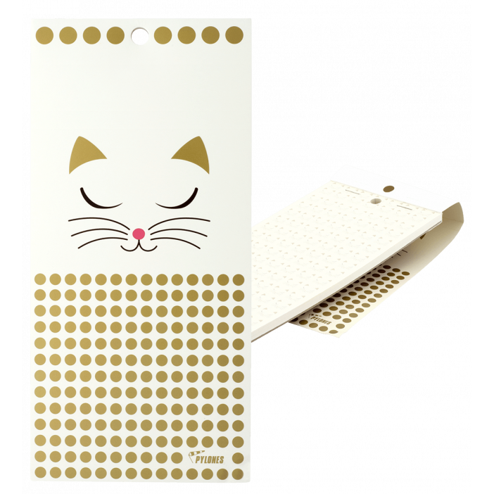 Magnetic memo block - Notebook Formalist White Cat