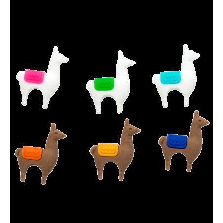 Set di 6 segnabicchieri - Lama