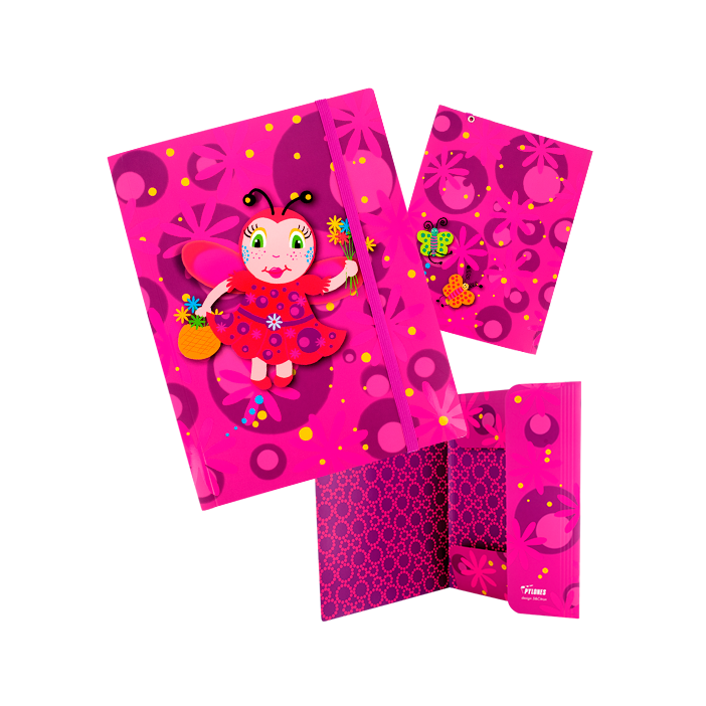 Chemise cartonnée A4 - Akademik Ladybird