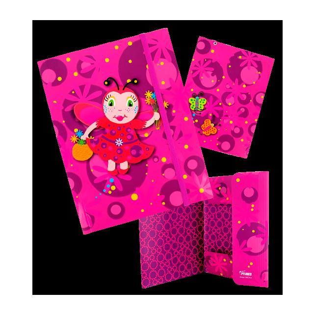 Kartonmappe A4 - Akademik Ladybird