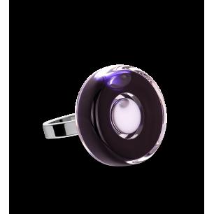 Anello in vetro - Duo Mini