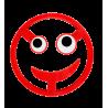 Dessous de plat - Pile ou Face Rouge