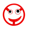 Topfuntersetzer - Pile ou Face Rot