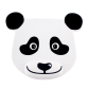 Mouse pad with wrist support - Ipanda Panda