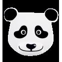 Tappetino mouse con poggiapolso - Ipanda Panda