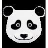 Mauspad mit Handgelenk-Unterstützung - Ipanda Panda