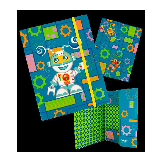 Kartonmappe A4 - Akademik Roboter