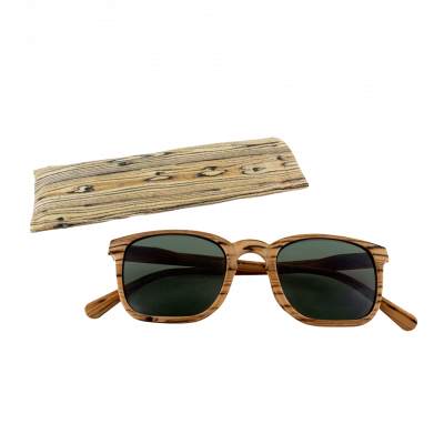 Sunglasses - Bois Carré - Light brown