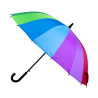 Parapluie - Rainbow warrior Multicolore