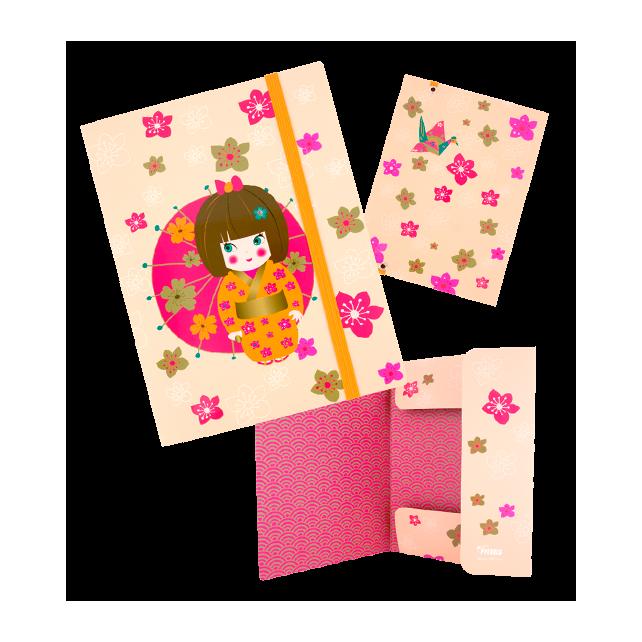 Chemise cartonnée A5 - Akademik Japanese
