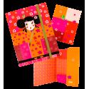 Chemise cartonnée A5 - Akademik Ladybird