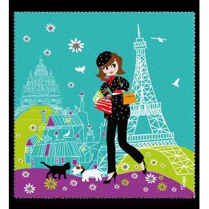 Mikrofasertuch - Belle Vue - Parisienne