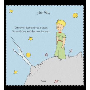 Tissu microfibre pour lunettes - Belle Vue - Le Petit Prince Bleu