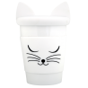 Trophy Mug - Mug et couvercle White cat