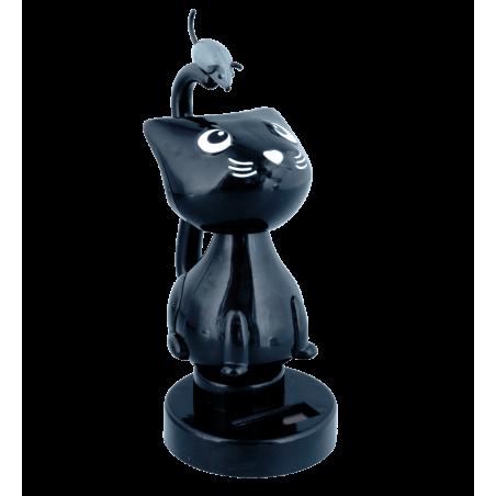 Solar powered dancing figurines - 1-2-3 Soleil Eiffel Tower