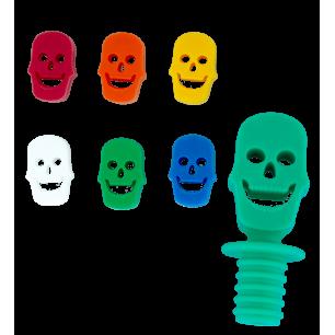 Glasmarkierer und Stöpsel - Skelett