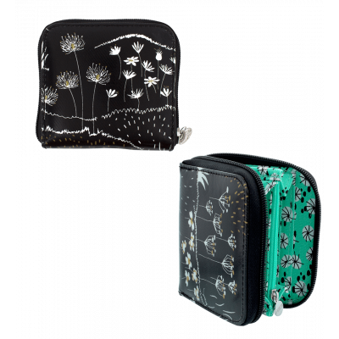 Kleine Brieftasche - Voyage - Black Board