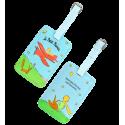 Luggage label - Voyage Papilion