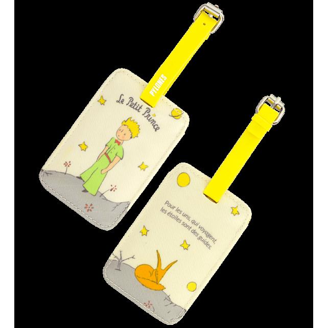 TA. Voyage - Etiquette de bagage Le Petit Prince Jaune