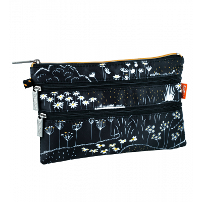 Pochette 3 zips - Zip It - Black Board